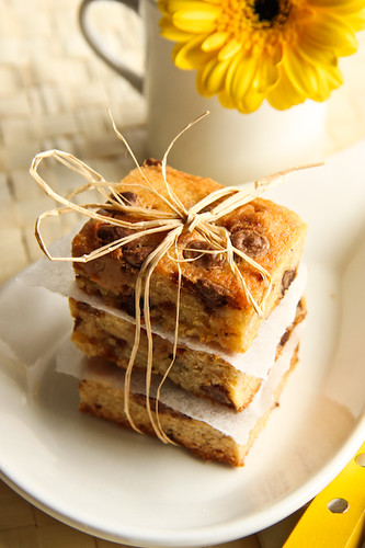 Banoffee Blondies | by raspberri cupcakes