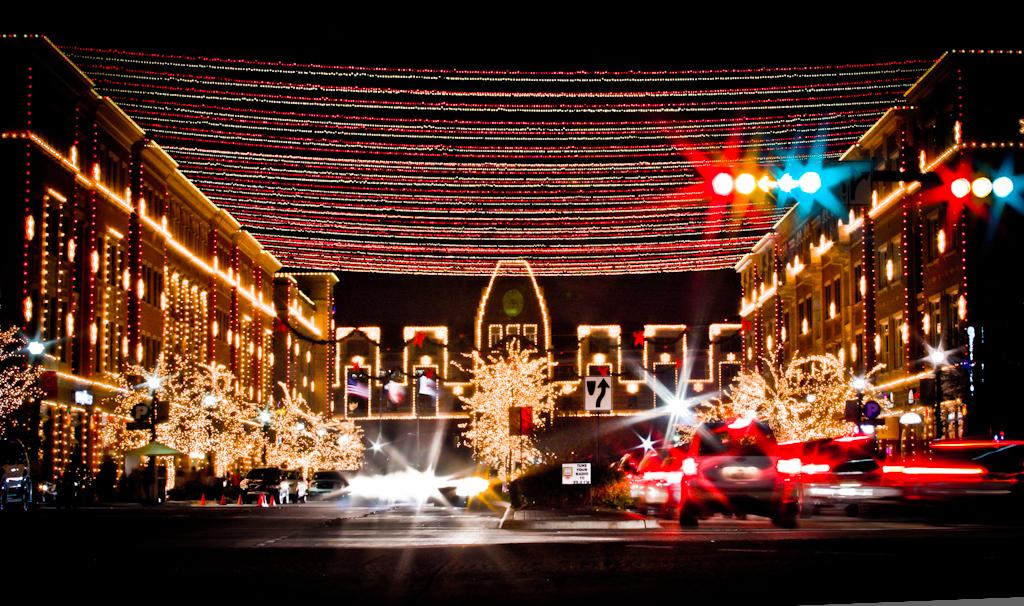 Frisco Square Christmas Lights Frisco Texas This