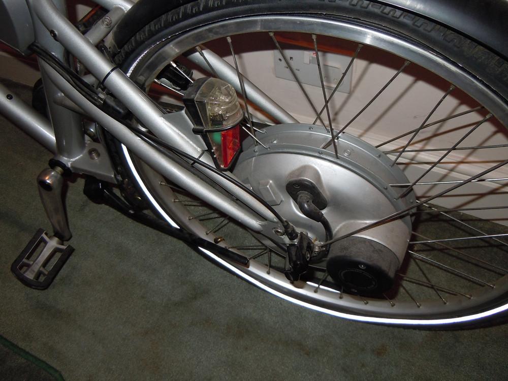 mercedes benz electric bike 250 watt sanyo motor flickr. Black Bedroom Furniture Sets. Home Design Ideas
