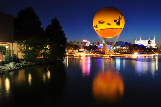 A Night Scene in Downtown Disney | by Seth Oliver Photographic Art