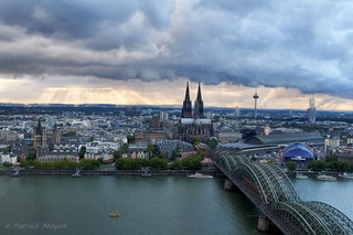 koln from above | by Patrick Mayon