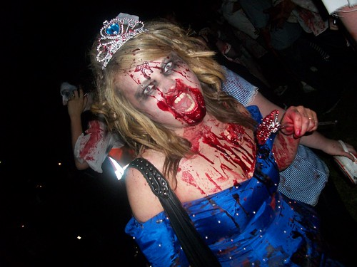 Zombie Walk - the prom queen goes bad | by moggs oceanlane