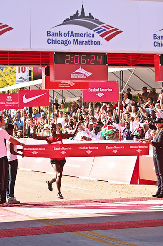 Sammy Wanjiru Chicago Marathon Winner 10-10-10 | by Studio Finch - Jason & Ela