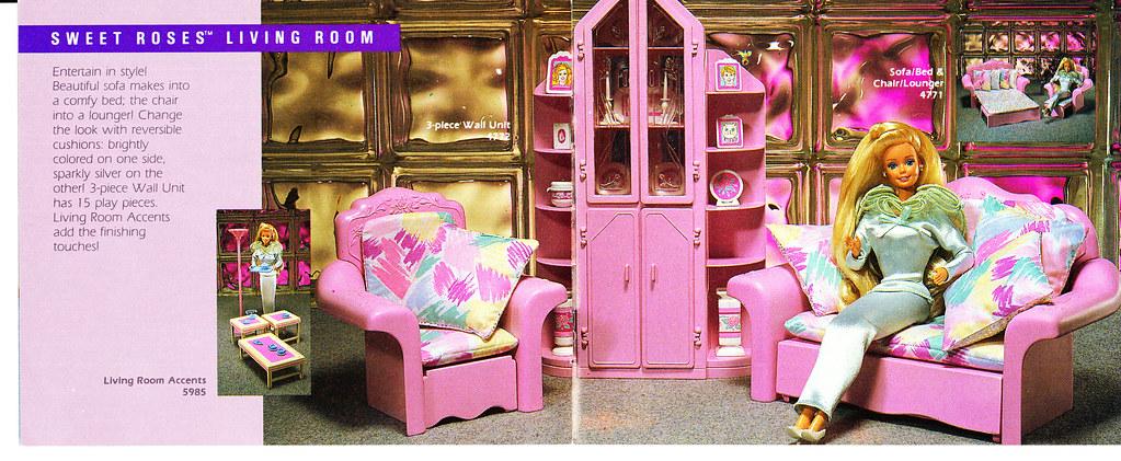 Barbie Living Pretty Sweet Roses Furniture Flickr