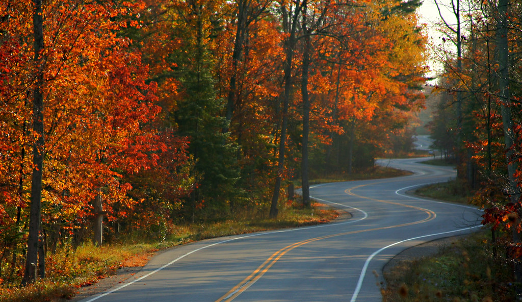 ... Winding Road in Door County Wisconsin | by Teri Bertin Images & Winding Road in Door County Wisconsin | This has become a hu2026 | Flickr