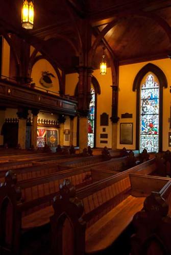 Interior St John 39 S Anglican Church Lunenburg Nova Scot Flickr