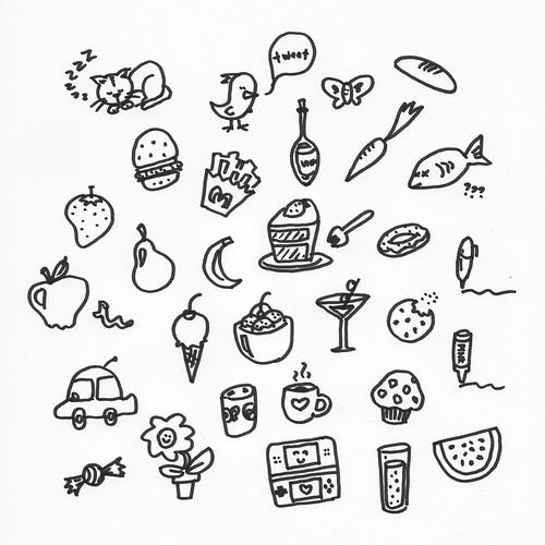Cute little doodles to draw images for Cute little doodles to draw