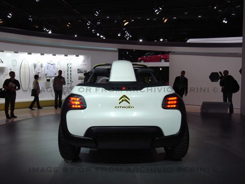 Citroen Lacoste Concept Paris 2010 Read More On Auto Des Flickr