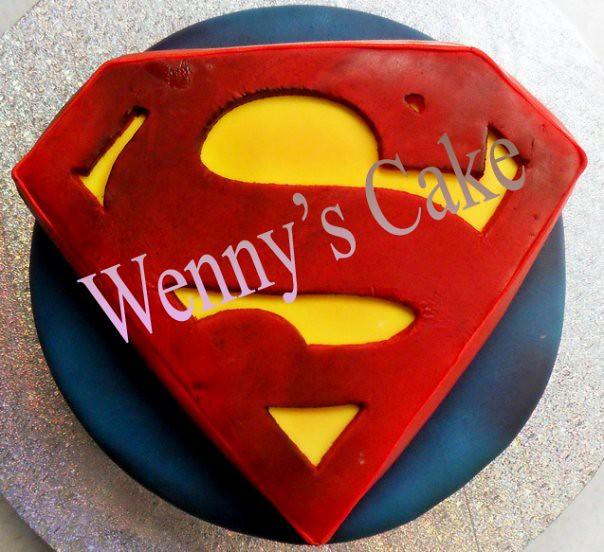 Superman S Cake Pan