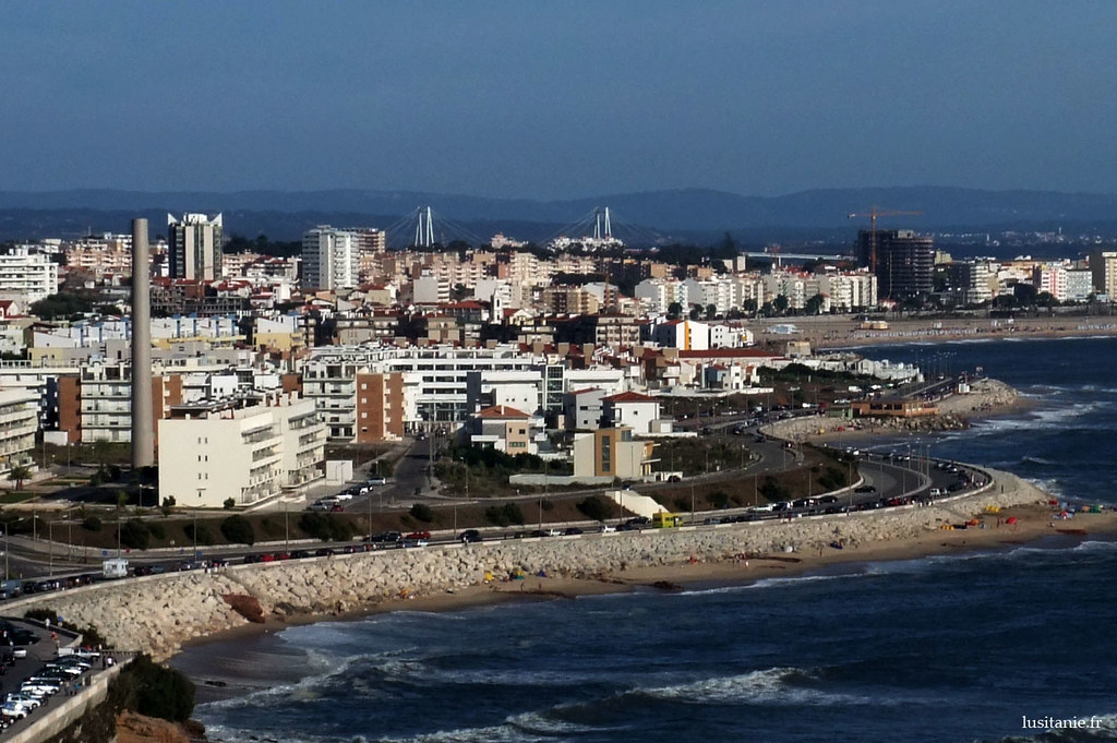 Vue sur la ville de Figueira da Foz