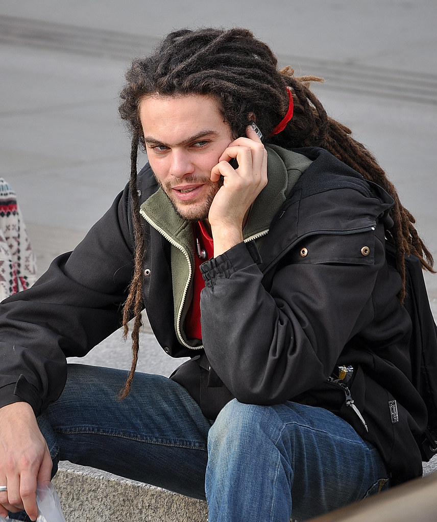 Dreadlock Caller John Kortland Flickr