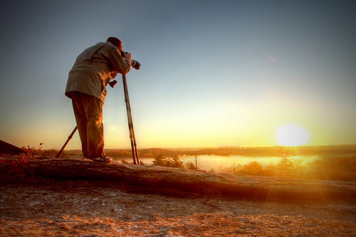 Arabia Mountain Sunrise (shooter) | by HamWithCam