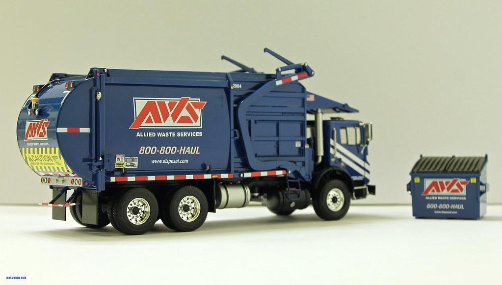First Gear Allied Waste Republic Services Front Load Gar