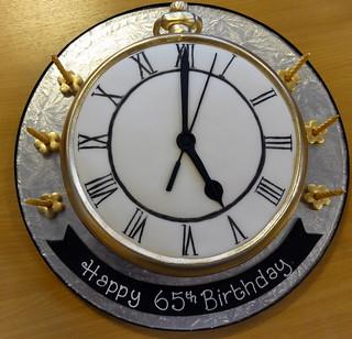 Birthday Cake Clock Fail