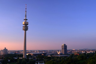 Munich, television tower in sunset, july 2010 | by FHgitarre