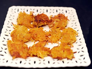 Pumpkin Potato Latkes - Serious Eats | by sassyradish