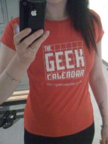 Geek Calendar ladies' t-shirt | by geekcalendar