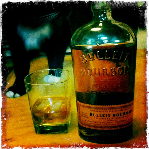 Bulleit Bourbon Frontier whiskey | by swanksalot