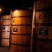 Wine maturing in vats