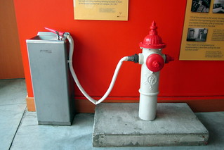 Cambridge: MIT - Stata Center - Stata Building - Fire Hydrant Water Fountain | by wallyg