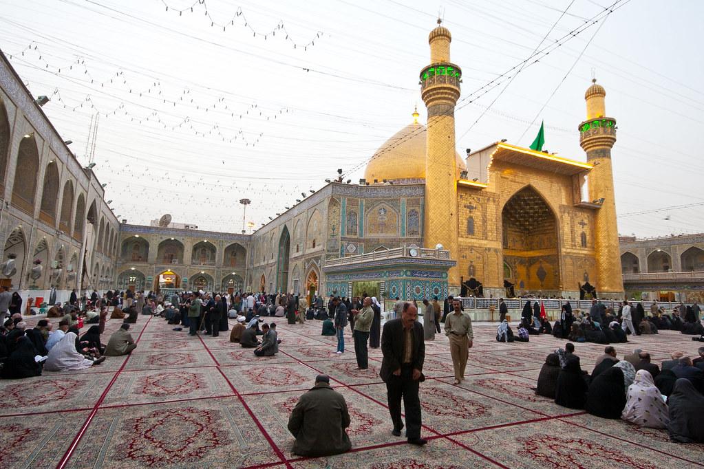 An Najaf | Holy Shrine of Imam Ali Bin Aby Taleb (A.S) in ...