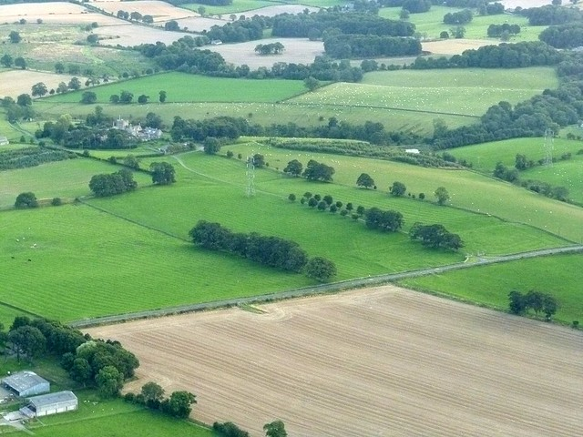 Haltonchesters from the air