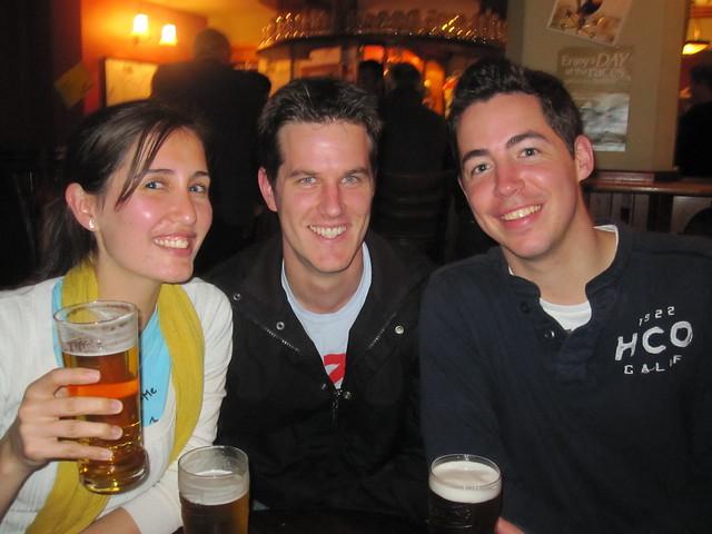 Irish pints!