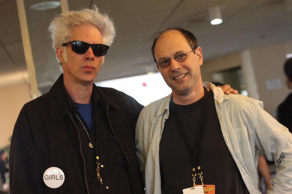 Bob Boilen jim jarmusch and bob boilen | alexandra marvar for npr | flickr