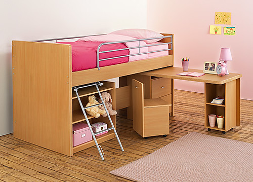 Metal Double Bed Frame With Storage