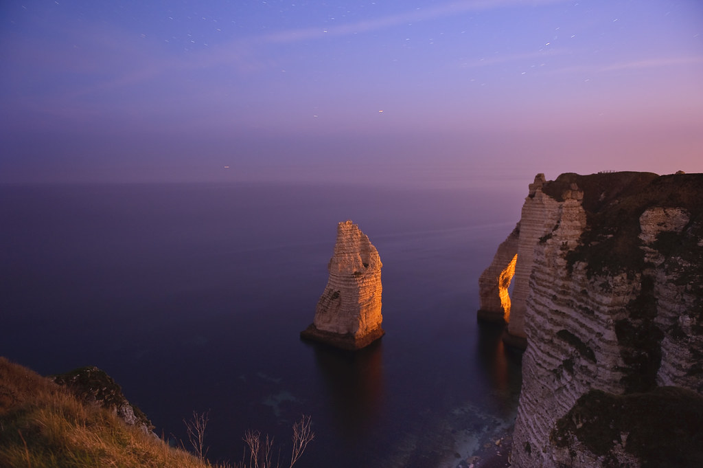 Etretat, Needle, dawn