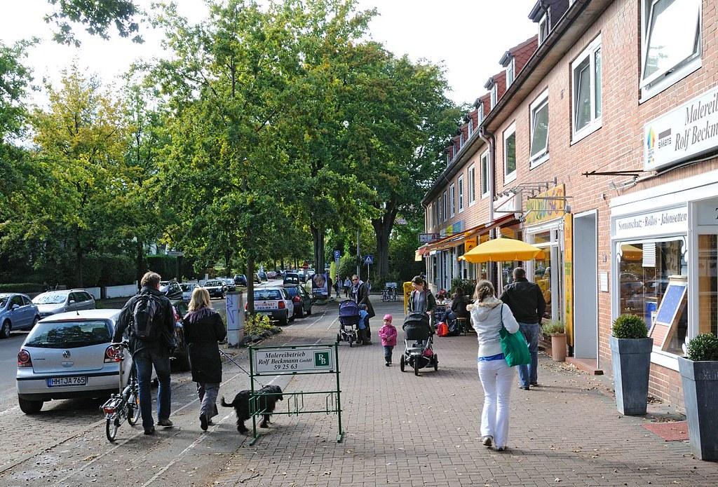 Flüchtlinge Klein Borstel