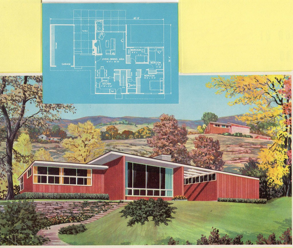 Homes and plans of the 1940 39 s 50 39 s 60 39 s and 70 39 s flickr for Home design 60s