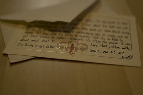 Letter from Caleb (detail) | by kylesteed