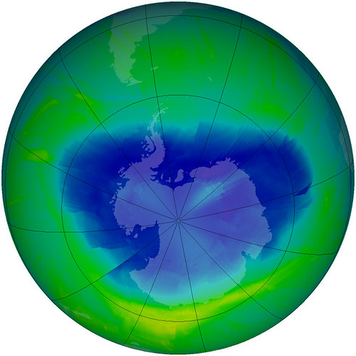 Snapshot of the Antarctic Ozone Hole 2010 | by NASA Goddard Photo and Video