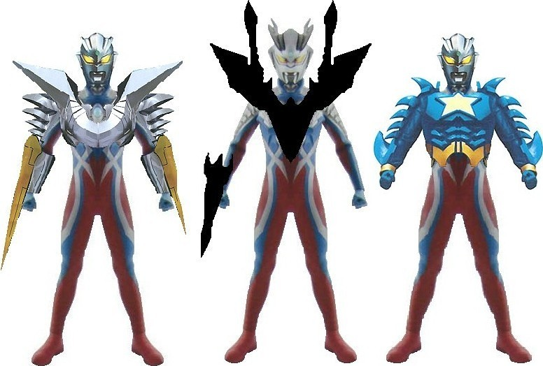 Ultraman Zero New Form NEW SUIT: ULTRAMAN ZER...