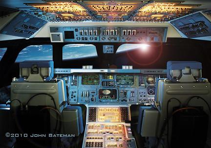 space shuttle interior 3d scan - photo #43
