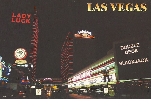 Nevada - Las Vegas, Lady Luck Casino Hotel | by 9teen87's Postcards
