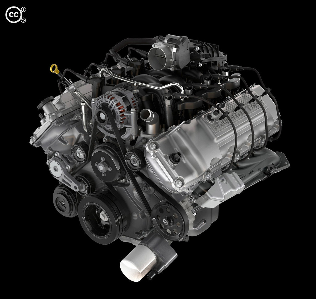2011 ford f 150 6 2l v8 engine the 2011 ford f 150 6 2 lit flickr. Black Bedroom Furniture Sets. Home Design Ideas