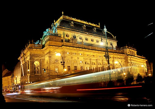 National theatre and tram 2 prague czech republic flickr - Roberto herrero ...