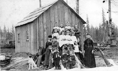 First schoolhouse in Sultan, Washington | by UW Digital Collections