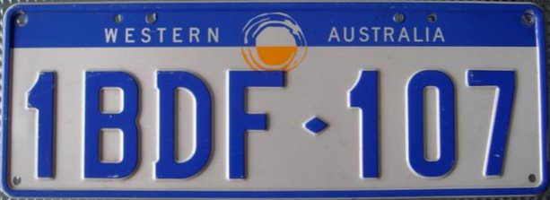 License Plate Camera >> Western Australia 1997 Series License Plate | Western Austra… | Flickr
