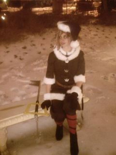 Sora Christmas Town Cosplay.Christmas Town Sora Cosplay From Kingdom Hearts 2 Final M
