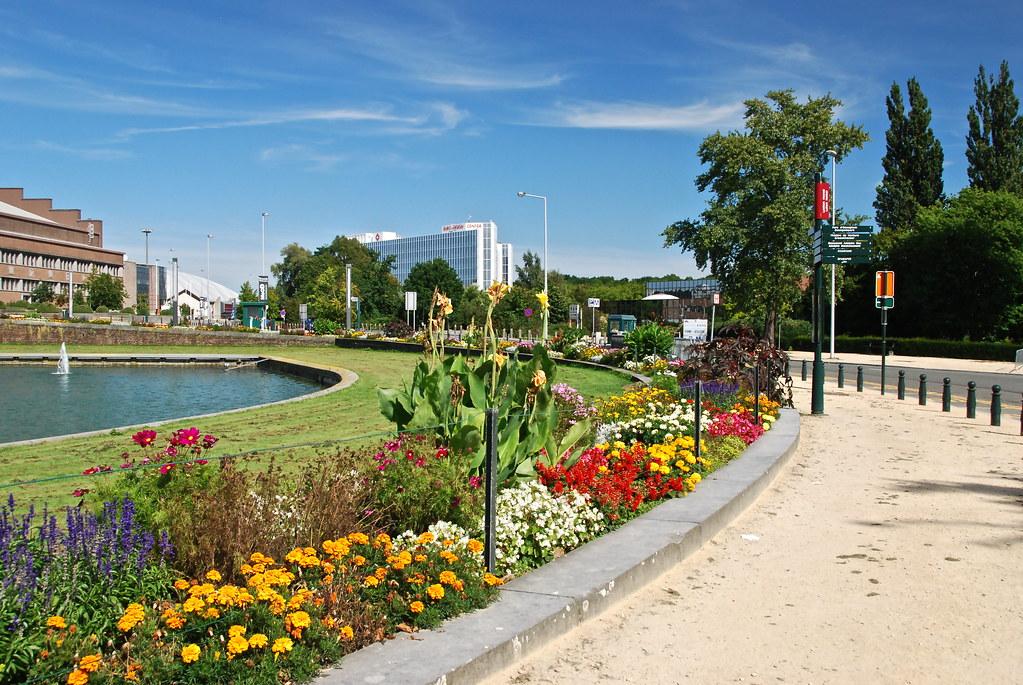 Parterre de fleurs devant le grand palais stephane for Parterre 3d