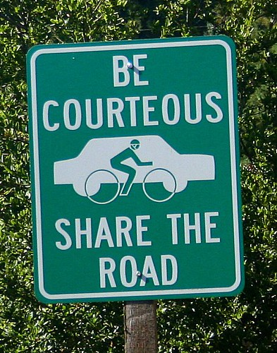 Be Courteous Share the Road | by Richard Masoner / Cyclelicious