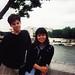 Ben & Me in Paris in 1999