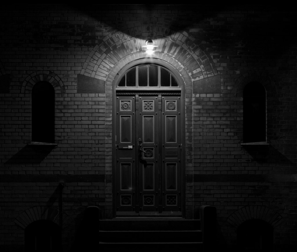 All Sizes The Scary Door Bw Flickr Photo Sharing