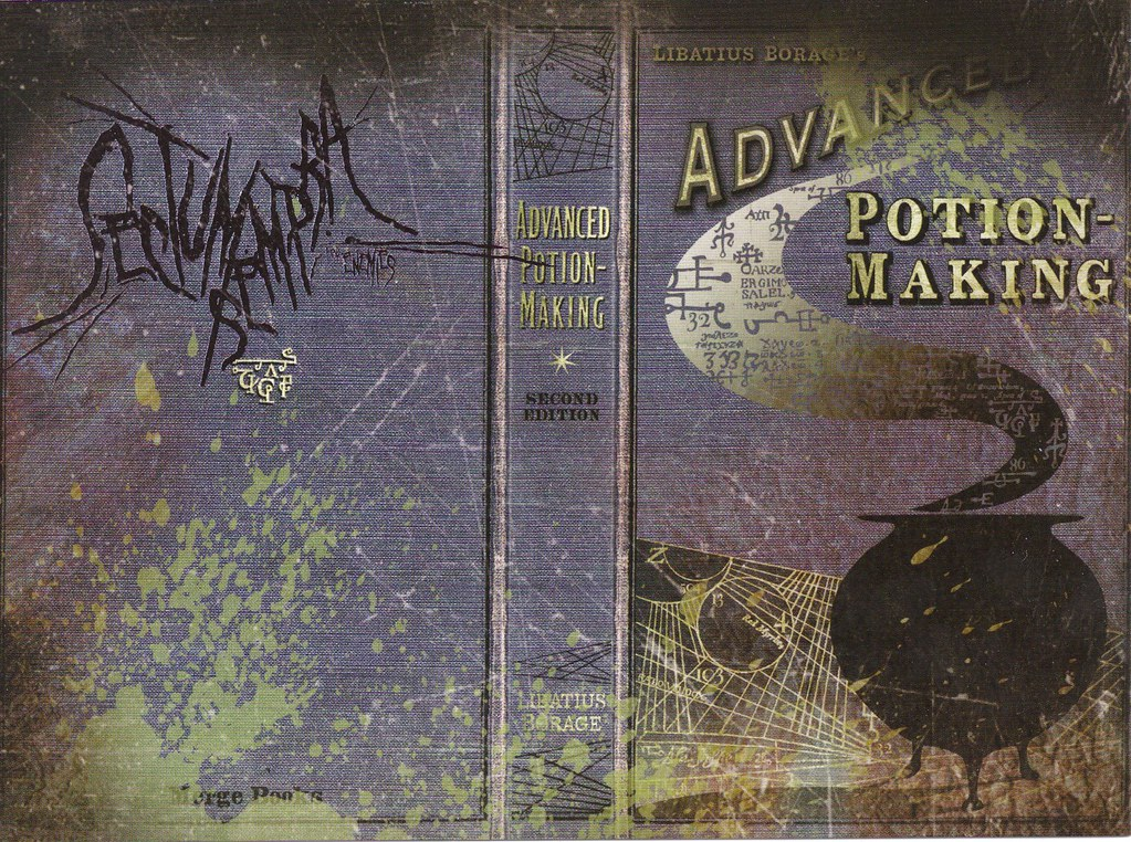 Book Cover Photography Prop ~ The half blood prince s potion book harry potter flickr