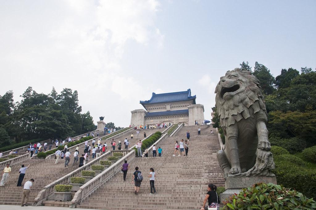 Sun Yat-sen's Mausoleum in Nanjing