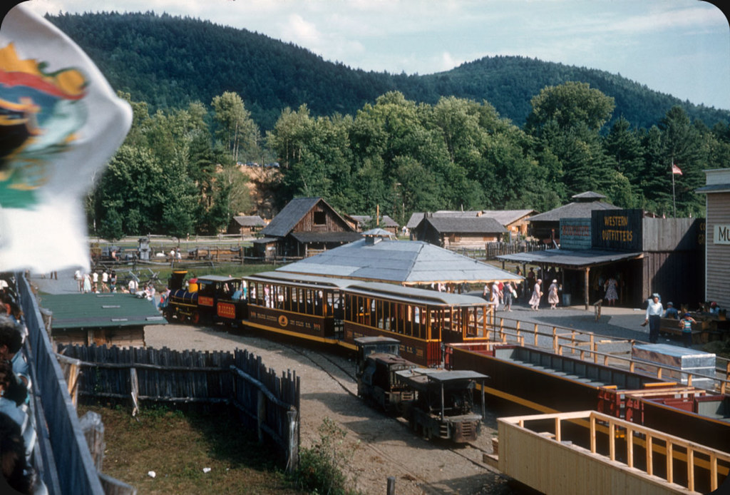 frontier town  north hudson  ny  u2014 1955