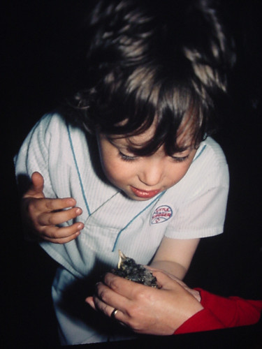 Tommy and baby robin